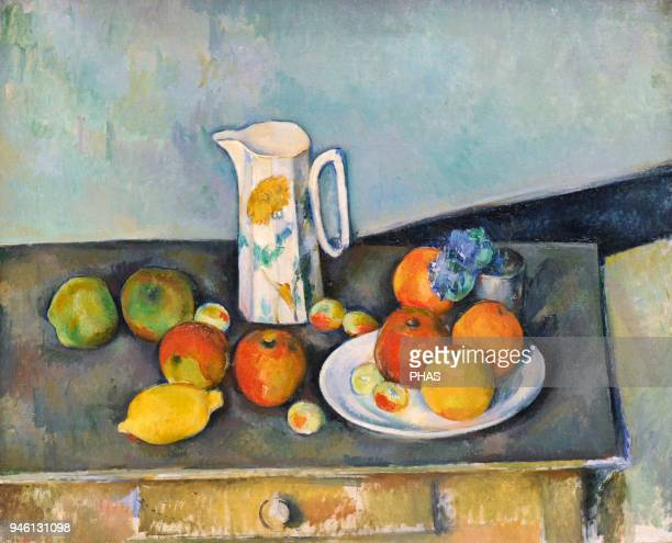 Paul Cezanne French painter Still Life ca1890 National Gallery Oslo Norway