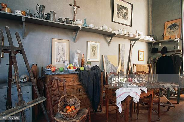 Paul Cezanne's art studio AixenProvence ProvenceAlpesCote d'Azur France