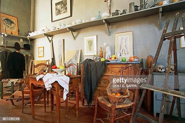 Paul Cezanne's study AixenProvence ProvenceAlpesCote d'Azur France