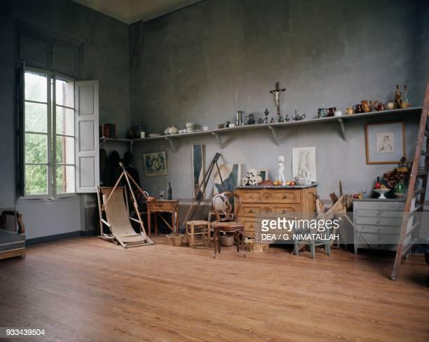 Paul Cezanne's study in his workshop AixenProvence ProvenceAlpesCote d'Azur France