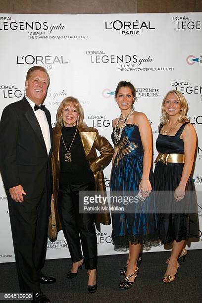 Paul Charron and Family and attend L'OREAL Legends Gala Benefiting The Ovarian Cancer Research Fund at The American Museum Of Natural History on...