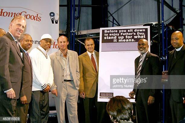 Paul Charrow Robert Johnson Bronx District Attorney Russell Simmons Ted Waitt Joe Torre Judge Ron Adrine and Reverend Run