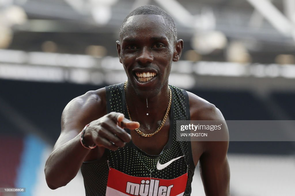 ATHLETICS-DIAMOND-GBR : News Photo