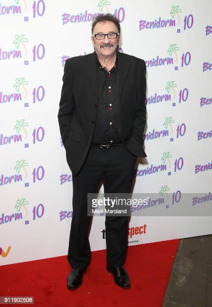Paul chuckle during a photocall for ITV show 'Benidorm ' which is celebrating it's 10th anniversary at The Curzon Mayfair on January 29 2018 in...