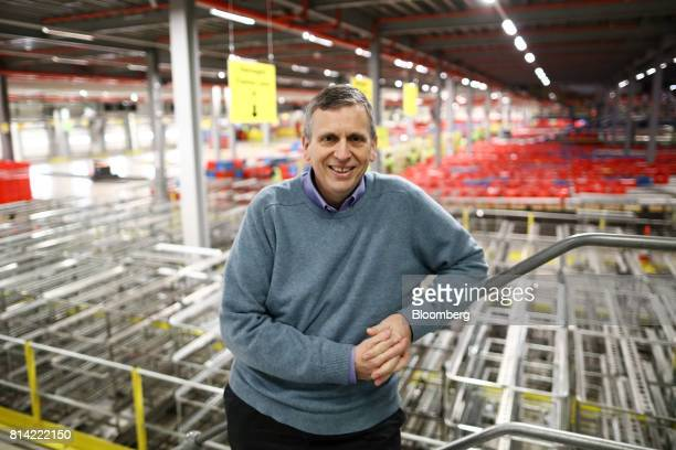 Paul Clarke chief technology officer of Ocado Group Plc poses for a photograph at the company's distribution centre in Dordon UK on Friday Dec 16...