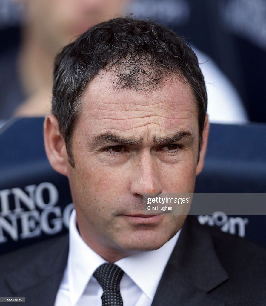 Paul Clement manager of Derby County during the Sky Bet Championship match between Bolton Wanderers and Derby County at the Macron Stadium on August 8, 2015 in Bolton, England.