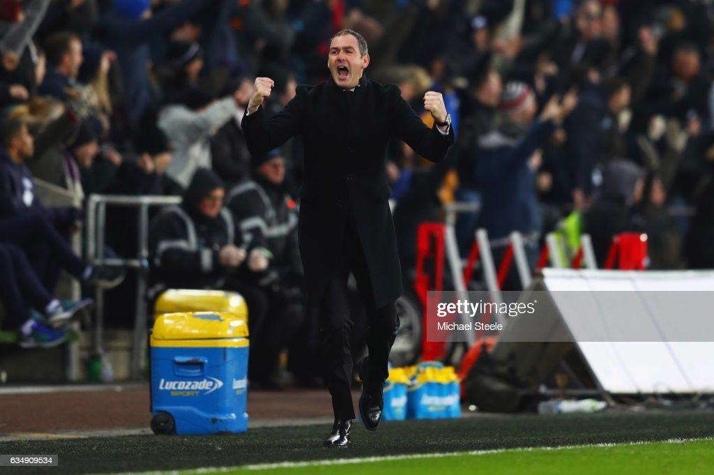 Swansea City v Leicester City - Premier League : News Photo