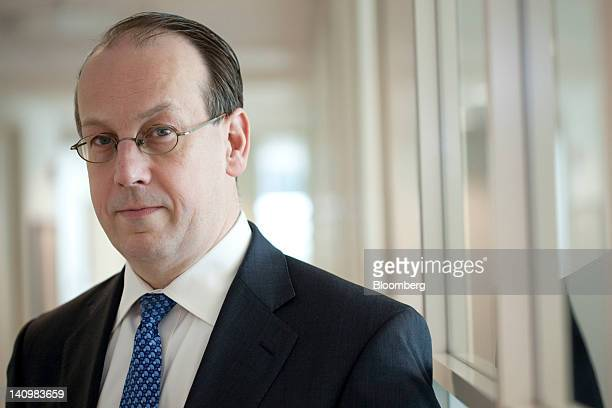 Paul Clement, partner at Bancroft PLLC and former solicitor general of the United States, poses for a portrait in Washington, D.C., U.S., on...