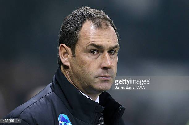 Paul Clement the head coach / manager of Derby County during the Sky Bet Championship match between Derby County and Queens Park Rangers at Pride...