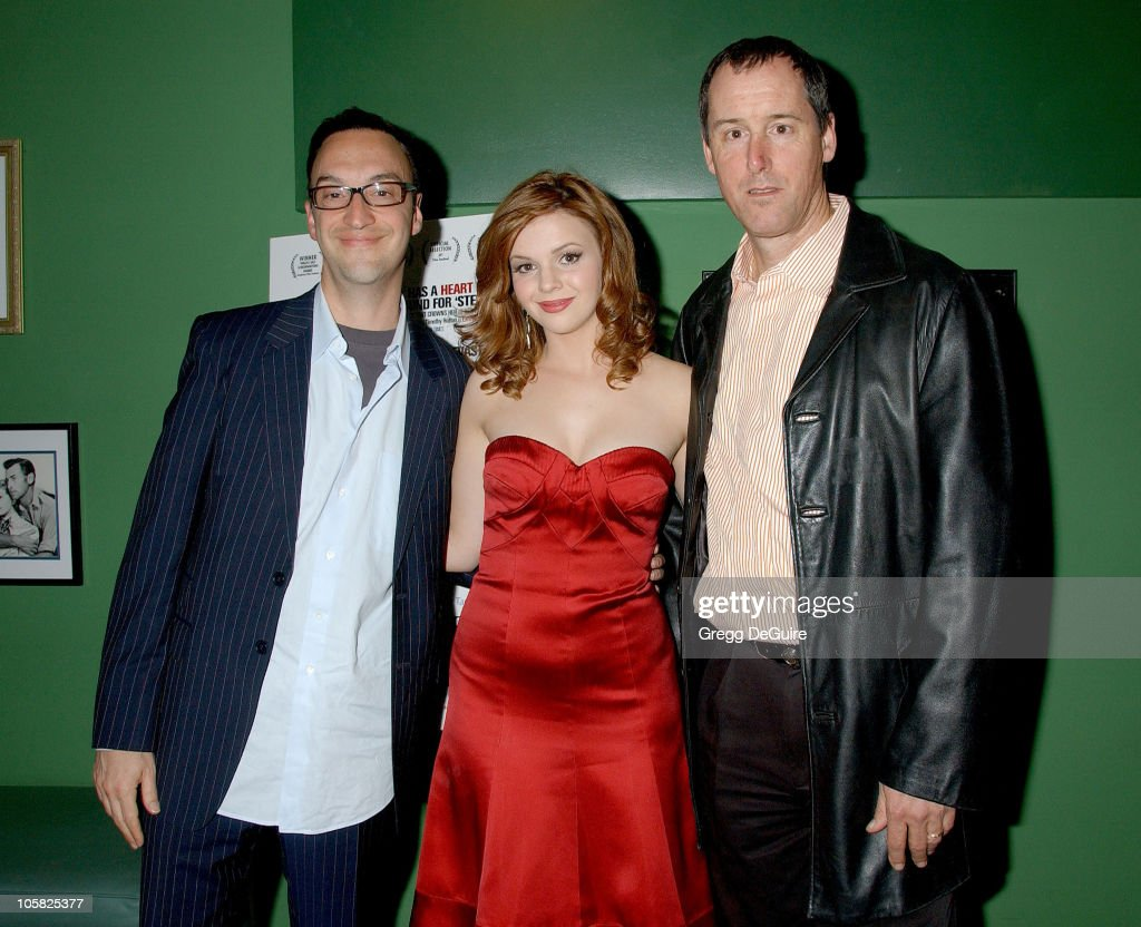 Paul Colichman, Chairman and CEO of Regent Entertainment, Amber Tamblyn, and Jay Boberg, Chairman of Liberation Entertainment