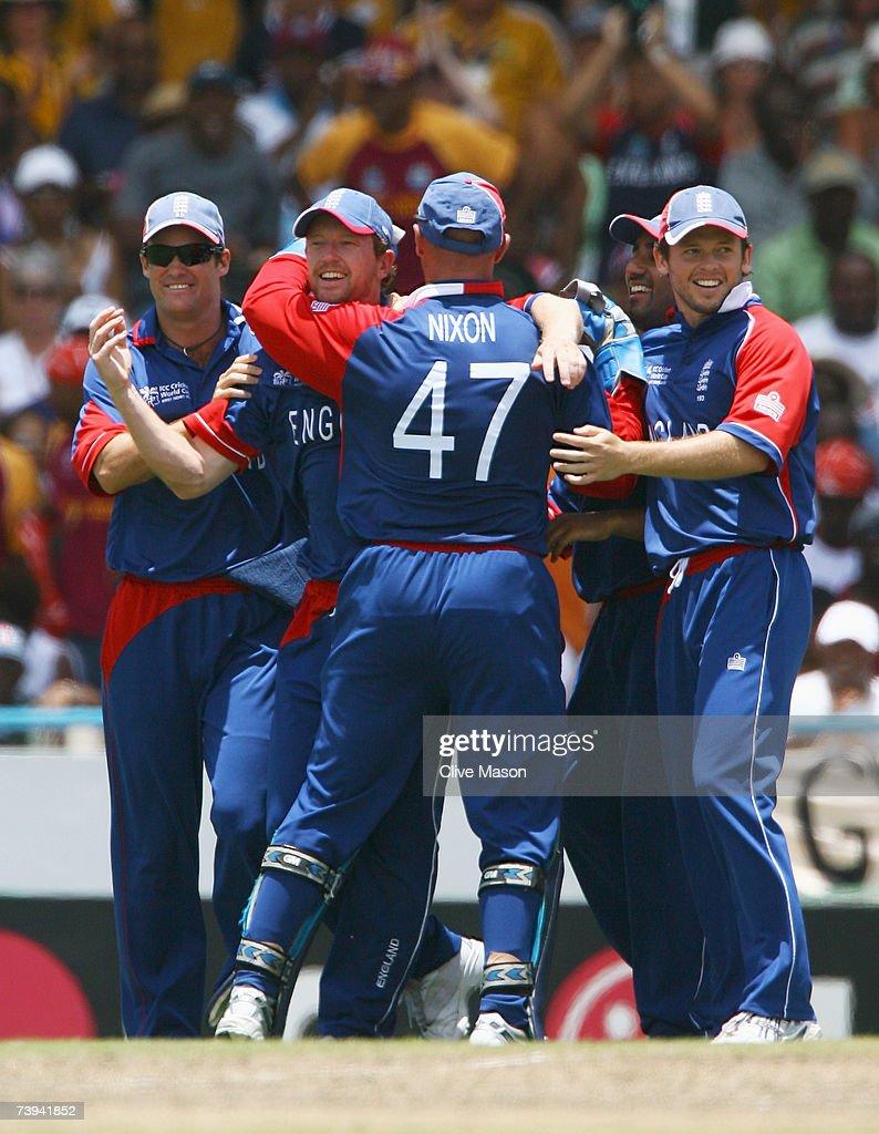 ICC Cricket World Cup Super Eights - West Indies v England : ニュース写真