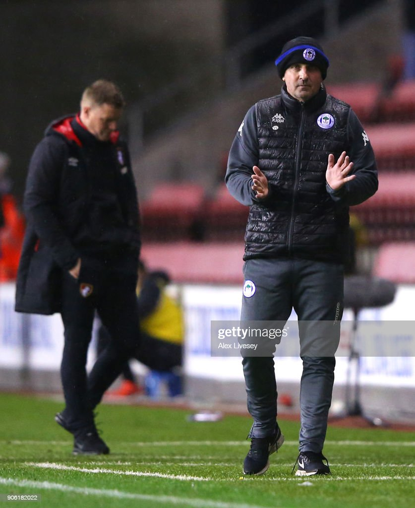 Wigan Athletic v AFC Bournemouth - The Emirates FA Cup Third Round Replay