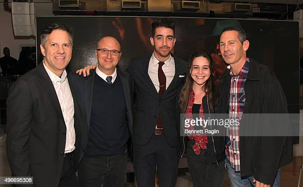Paul Costabile and Bea Miller attend the iHeartMedia Hosts Future Of Entertainment Event During Fast Company's Innovation Festival Featuring Bea...