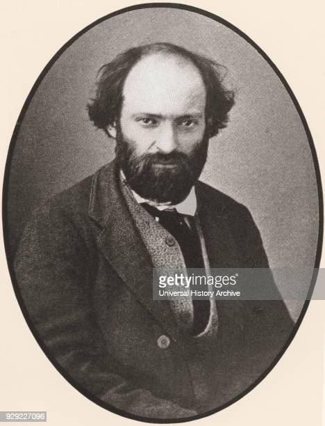 Paul Cézanne 1839–1906 From a photograph c 1875 French artist and PostImpressionist painter From Paul Cézanne published 1935