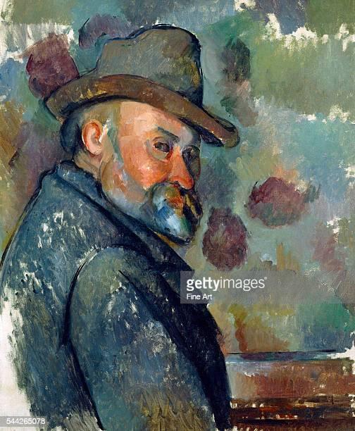 Paul Cézanne SelfPortrait with a Hat c 189094 oil on canvas 612 x 501 cm Ishibashi Foundation Tokyo