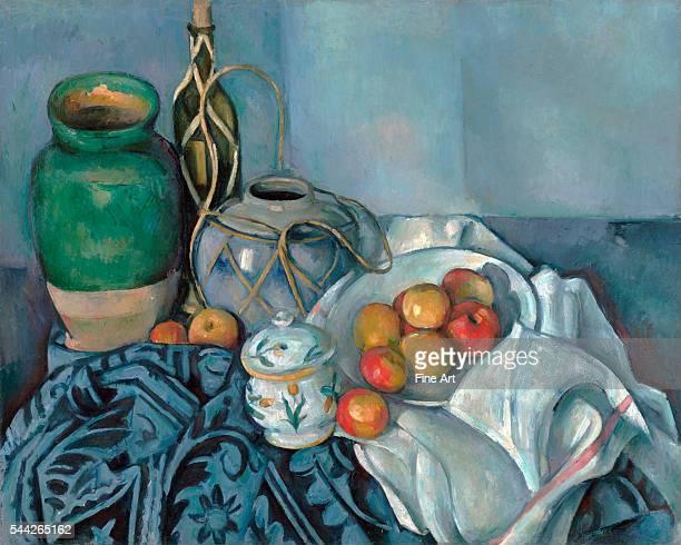 Paul Cézanne Still Life with Apples 189394 oil on canvas 65x4 x 816 cm The J Paul Getty Museum Malibu California