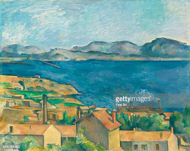 Paul Cézanne The Bay of Marseilles Seen from L'Estaque c 1885 oil on canvas 802 x 1006 cm Art Institute of Chicago