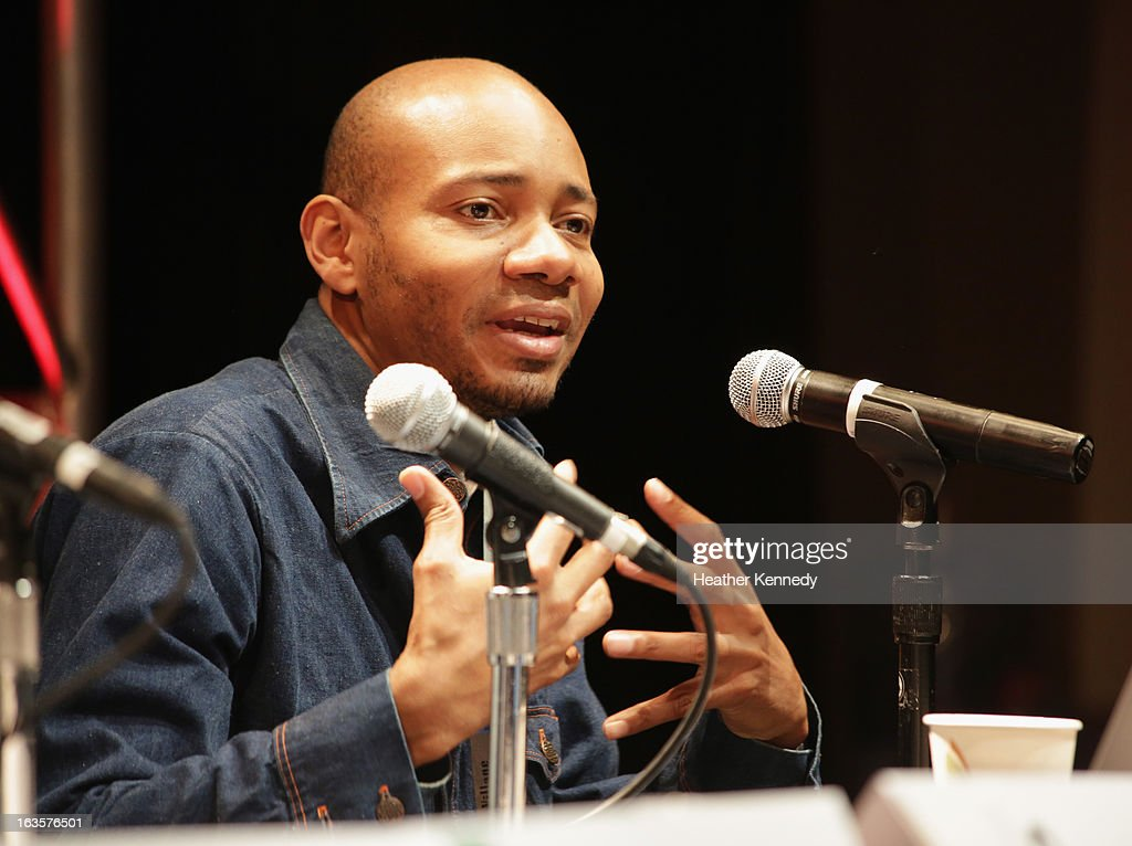Paul D. Miller aka DJ Spooky speaks onstage Activists, Rockstars & Startups: Building Movements during the 2013 SXSW Music, Film + Interactive Festival at Austin Convention Center on March 12, 2013 in Austin, Texas.