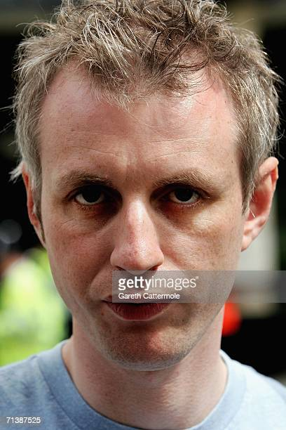 Paul Dadge arrives for a ceremony to remember the victims of 7/7 bombings at Edgware Road Station station on July 7 2006 in London England On July 7...