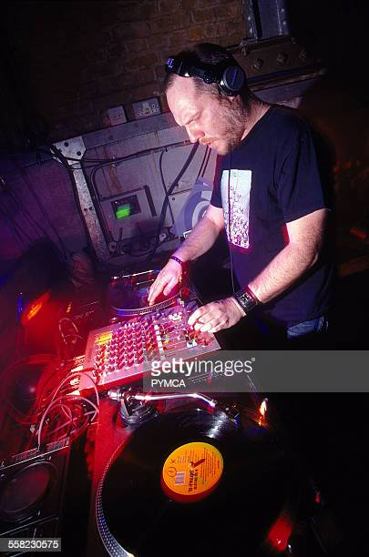 Paul Daley DJing at World DJ Day Fabric London March 2002.