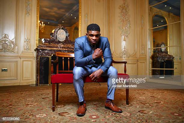 Paul Daley poses for a portrait during the Bellator 158 MMA Press Conference at the Four Seasons Hotel on April 18 2016 in London England