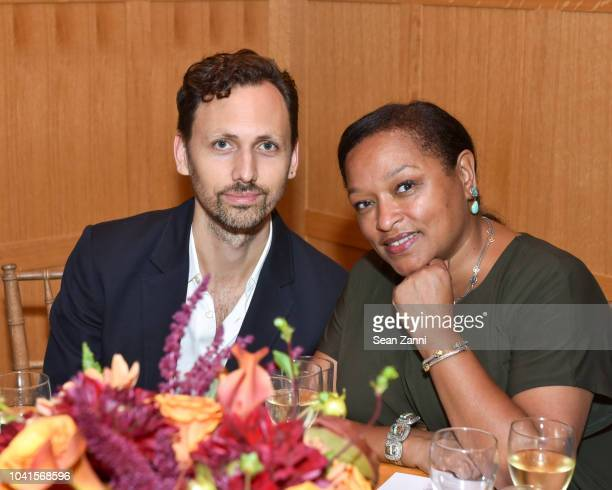 Paul Dallas and Laura Hope Acevedo attend The Maysles Documentary Center's Albie Award Dinner at a Private Club on September 26 2018 in New York City