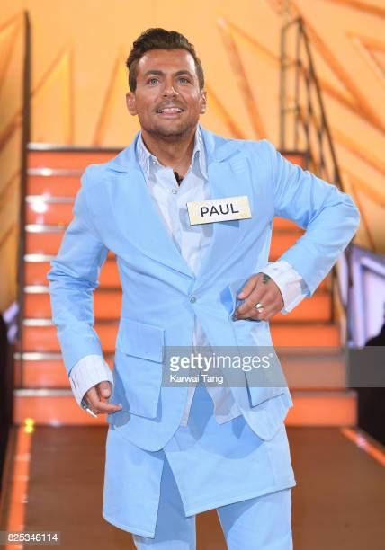 Paul Danan enters the Big Brother House for the Celebrity Big Brother launch at Elstree Studios on August 1 2017 in Borehamwood England