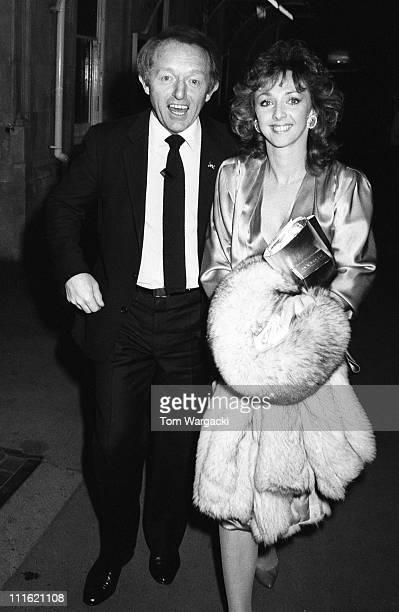 Paul Daniels and Debbie McGee during Paul Daniels and Debbie McGee at 'Phantom of the Opera' in London United Kingdom