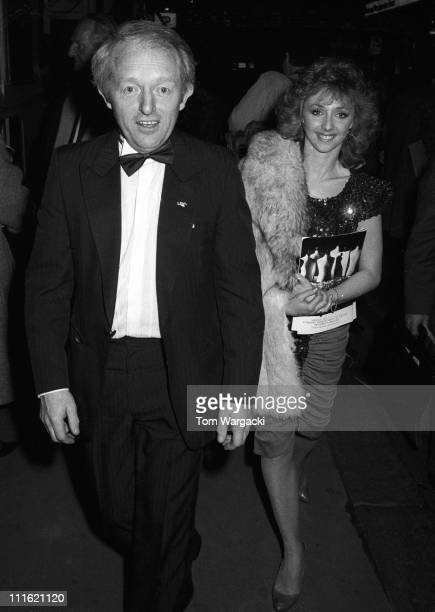 Paul Daniels and Debbie McGee during Paul Daniels and Debbie McGee at Opening of 'Spin of the Wheel' in London United Kingdom