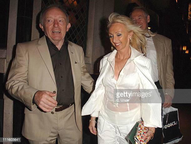 Paul Daniels and wife Debbie McGee during Paul Daniels Sighting at the Ivy September 18 2006 at The Ivy Restaurant in London Great Britain
