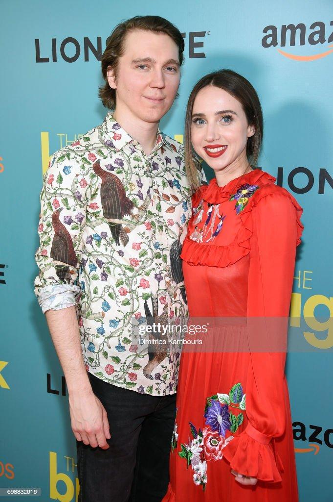 Paul Dano and Zoe Kazan attend 'The Big Sick' New York Premiere at The Landmark Sunshine Theater on June 20, 2017 in New York City.
