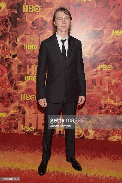 Paul Dano attends HBO's Official 2015 Emmy After Party at The Plaza at the Pacific Design Center on September 20 2015 in Los Angeles California