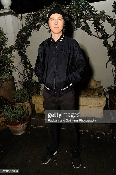 Paul Dano attends Montblanc And The Cinema Society With Mastro Dobel Kim Crawford Wines Host A Screening Of Sony Pictures Classics' Maggie's Plan...