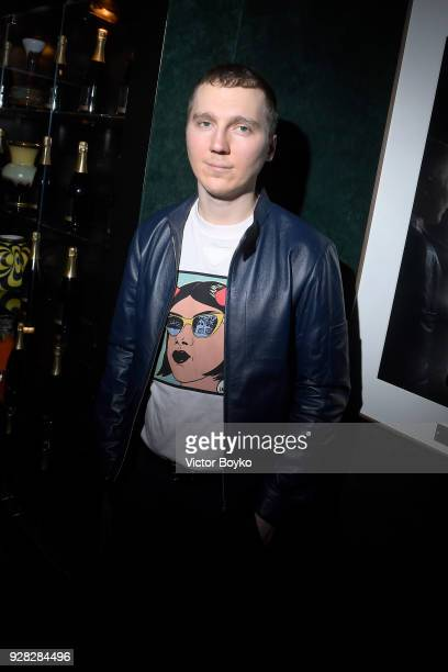 Paul Dano attends the Miu Miu after show as part of the Paris Fashion Week Womenswear Fall/Winter 2018/2019 on March 7 2018 in Paris France