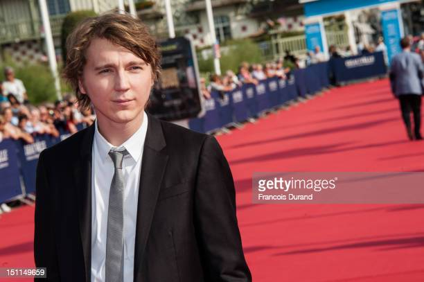 Paul Dano attends the 'Ruby Sparks' premiere during the 38th Deauville American Film Festival on September 2, 2012 in Deauville, France.