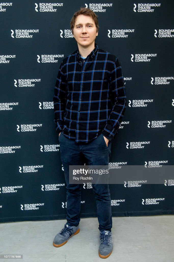 """Paul Dano attends the """"True West"""" Broadway photo call at ..."""