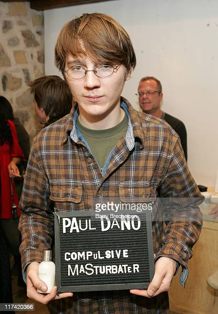 Paul Dano during 2007 Park City Jane House with Lancome Day 3 at Jane House in Park City Utah United States