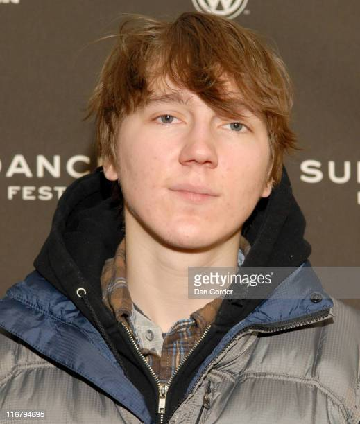 Paul Dano during 2007 Sundance Film Festival 'Weapons' Premiere at Racquet Club Theater in Park City Utah United States