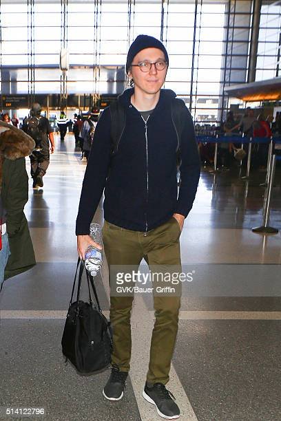 Paul Dano is seen at LAX on March 06 2016 in Los Angeles California