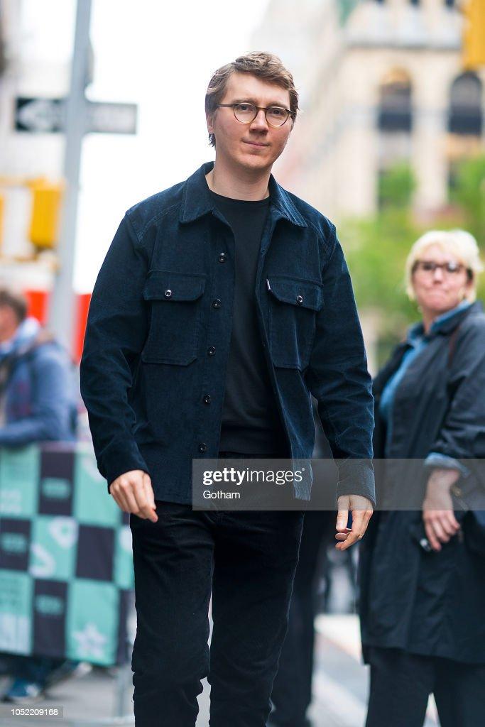 Paul Dano is seen in NoHo on October 15, 2018 in New York ...