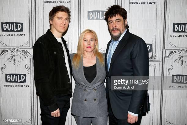 Paul Dano, Patricia Arquette and Benicio del Toro visit Build Series to discuss the Showtime series 'Escape at Dannemora' at Build Studio on November...