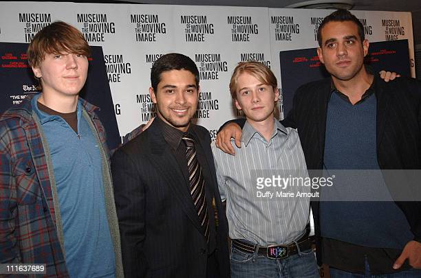 Paul Dano Wilmer Valderrama Lou Taylor Pucci and Bobby Cannavale