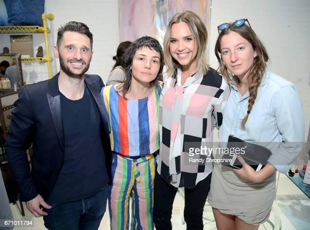 Paul Davidge Carly Jo Morgan Arielle Kebbel and Megan Mulroonrey attend Not So General Presents 'Transmutation' an inaugural show and the debut of...