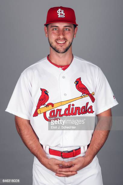 Paul Dejong of the St Louis Cardinals poses during Photo Day on Monday February 20 2017 at Roger Dean Stadium in Jupiter Florida