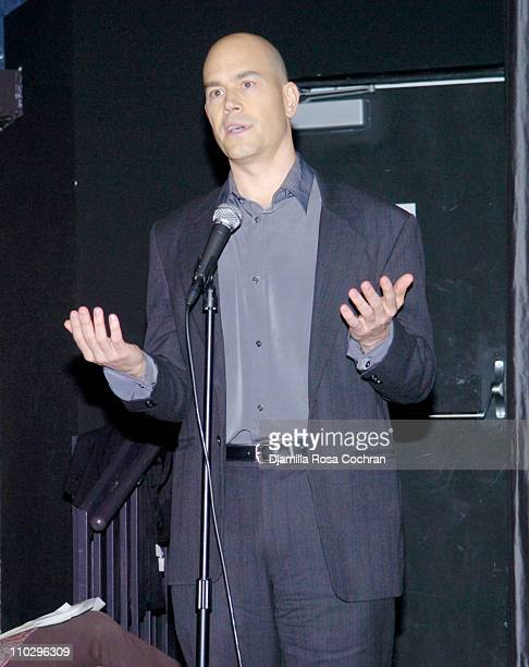 Paul Devlin during DocuClub Presents the Idea Workshop at the IFC Center in New York City March 12 2007 at IFC Center in New York City New York...