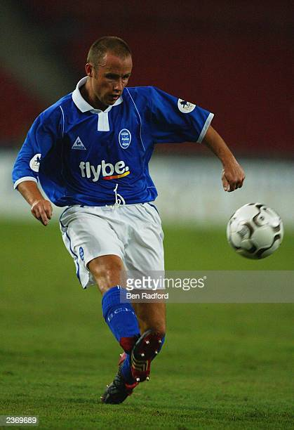 Paul Devlin of Birmingham City crosses the ball during the FA Premier League Asia Cup match between Malaysia and Birmingham City held on July 26 2003...