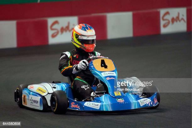 Paul Di Resta - - ERDF Masters Kart - Paris Bercy, Photo : Alain Bourdaux / Icon Sport