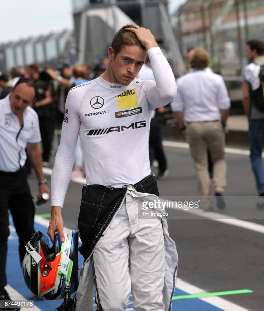 Paul Di Resta and looks on during the race of the DTM 2016 German Touring Car Championship at Nuerburgring on Septembmber 10, 2016 in Nuerburg,...