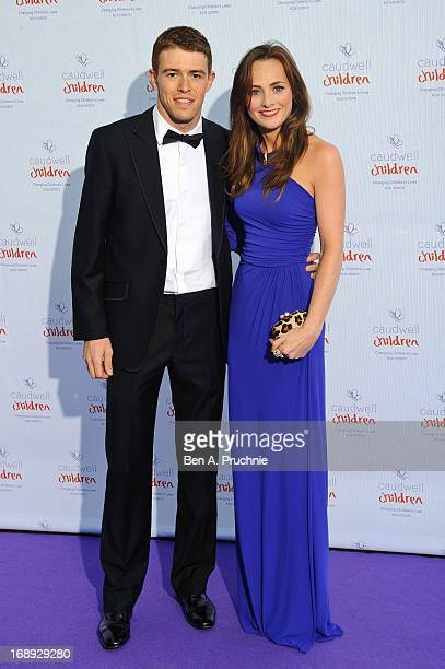 Paul di Resta attends The Butterfly Ball: A Sensory Experience in aid of the Caudwell Children's charity at Battersea Evolution on May 16, 2013 in...
