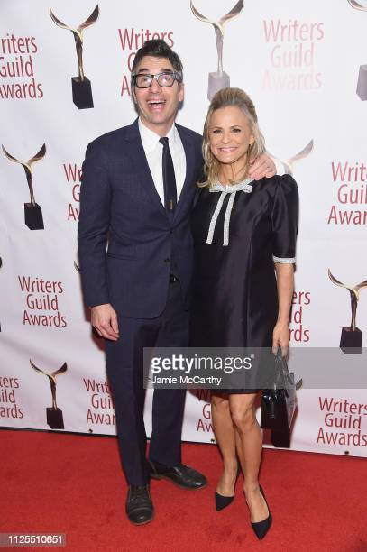 Paul Dinello and Amy Sedaris attend the 71st Annual Writers Guild Awards New York ceremony at Edison Ballroom on February 17 2019 in New York City